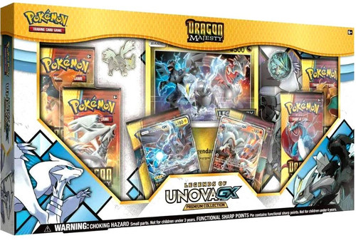 Pokemon Trading Card Game Dragon Majesty Legends of Unova-GX Premium Collection