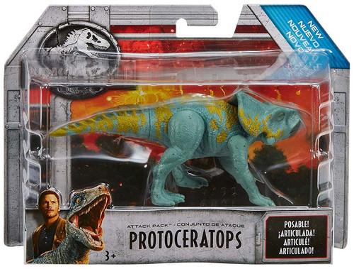 Jurassic World Fallen Kingdom Attack Pack Protoceratops Action Figure