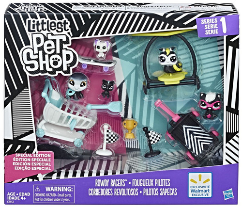 Littlest Pet Shop Rowdy Racers Exclusive Figure Pack