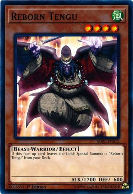 YuGiOh Powercode Link Structure Deck Common Reborn Tengu SDPL-EN012