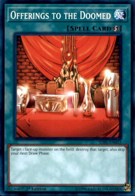 YuGiOh Powercode Link Structure Deck Common Offerings to the Doomed SDPL-EN023