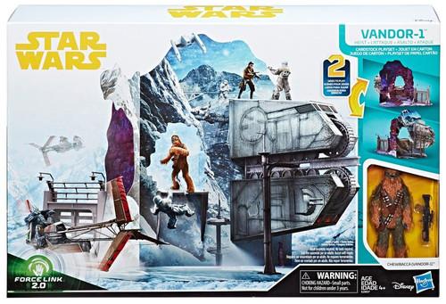 Star Wars Solo Force Link 2.0 Vandor-1 Heist Cardstock Exclusive 3.75'' Playset