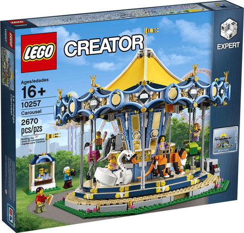 LEGO Creator Carousel Set #10257 [Damaged Package]