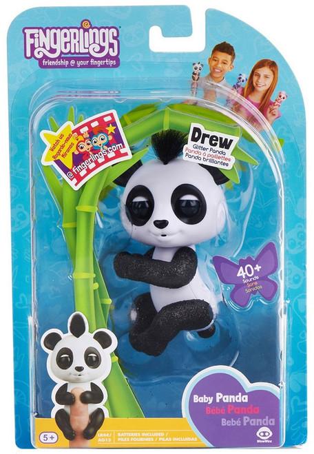 Fingerlings Baby Panda Drew Figure [Glitter Panda]