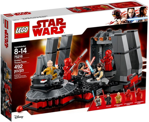 LEGO Star Wars The Last Jedi Snoke's Throne Room Set #75216