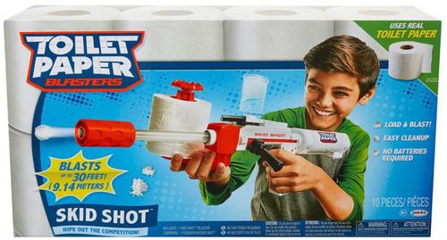 Toilet Paper Blasters Skid Shot Blaster