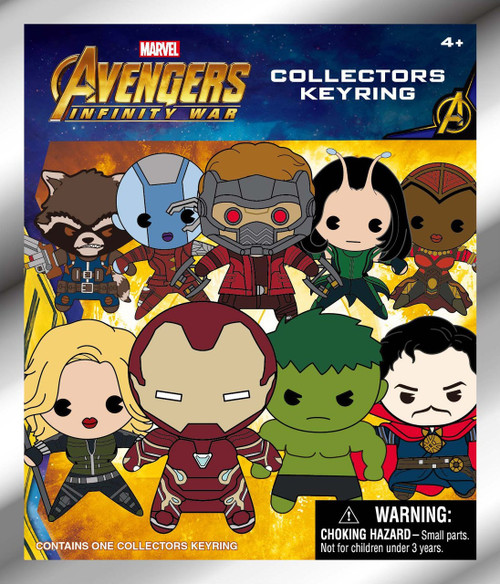 Marvel 3D Figural Keyring Avengers Infinity War Series 1 Mystery Pack [1 RANDOM Figure]