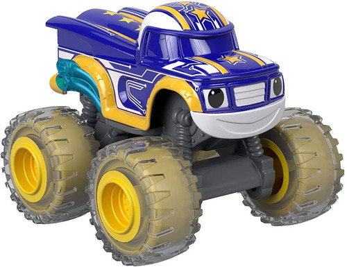 Fisher Price Blaze & the Monster Machines Robot Riders Darington Diecast Car