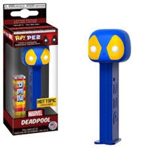 Funko Marvel POP! PEZ Deadpool Exclusive Candy Dispenser [Blue & Yellow]