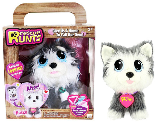 Rescue Runts Husky Plush Toy
