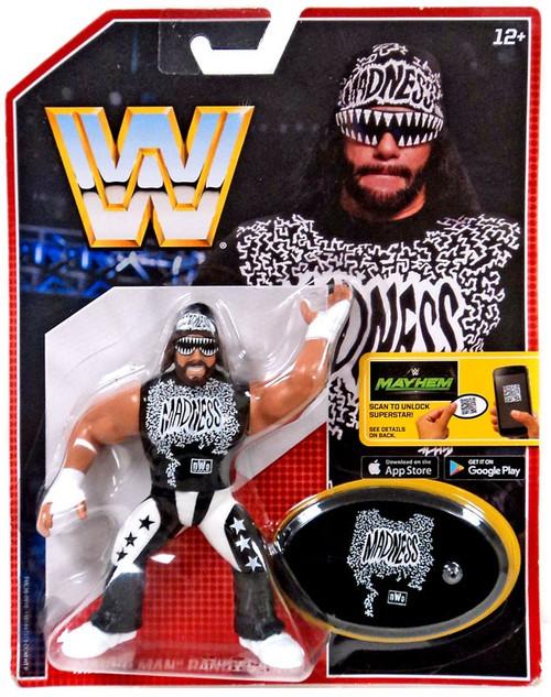 "WWE Wrestling Retro ""Macho Man"" Randy Savage Action Figure [Black Outfit]"