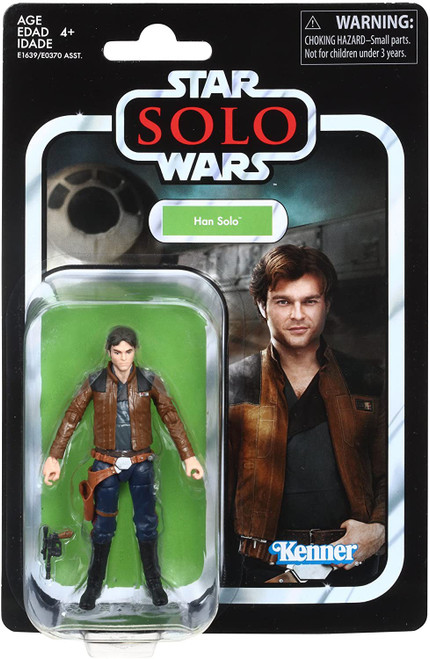 Solo A Star Wars Story Vintage Collection Han Solo Action Figure