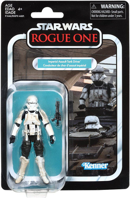 Star Wars Rogue One Vintage Collection Imperial Assault Tank Pilot Action Figure [Rogue One]