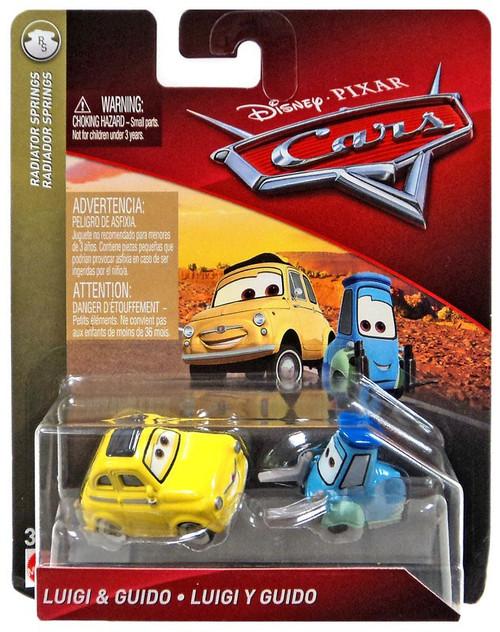 Disney / Pixar Cars Cars 3 Radiator Springs Luigi & Guido Diecast Car 2-Pack