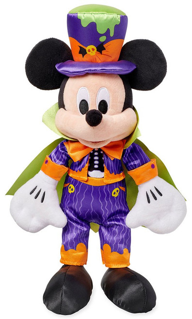 Disney 2018 Halloween Mickey Mouse Exclusive 17-Inch Plush [Dracula]