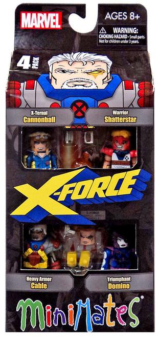 Marvel Minimates Classic X-Force 2-Inch Minifigure Set