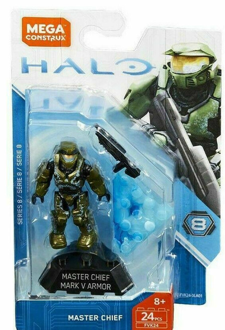 Halo Heroes Series 8 Master Chief Mark V Armor Mini Figure