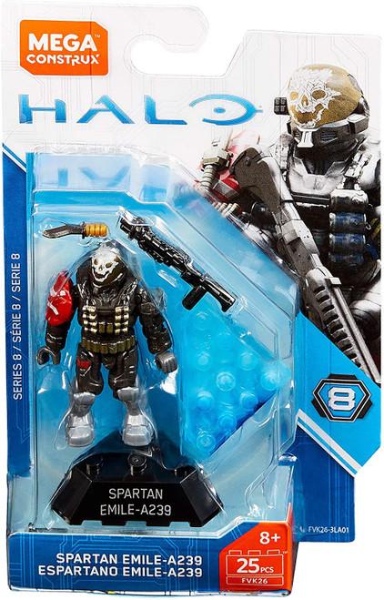 Halo Heroes Series 8 Spartan Emile-A239 Mini Figure