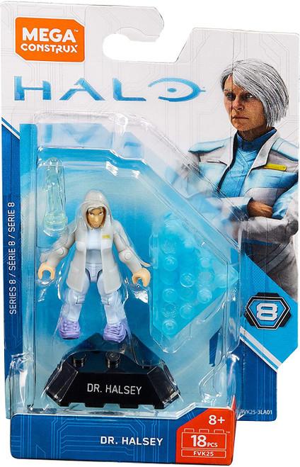 Halo Heroes Series 8 Dr. Halsey Mini Figure