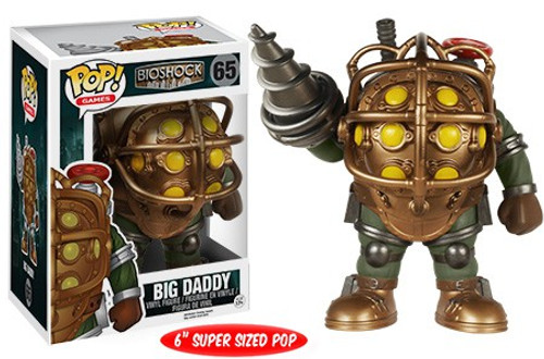 Funko Bioshock POP! Games Big Daddy 6-Inch Vinyl Figure #65 [Super-Sized, Loose]