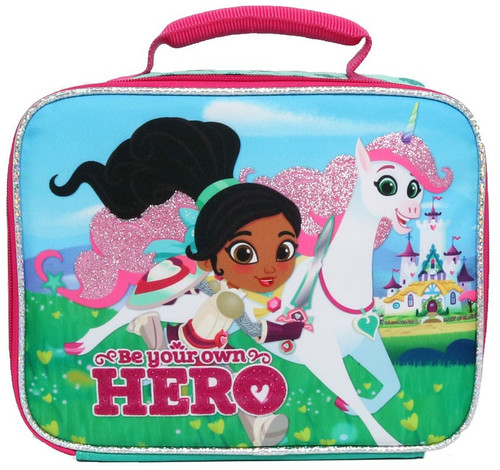 Nickelodeon Nella The Princess Knight Royal Hero Exclusive Lunch Tote
