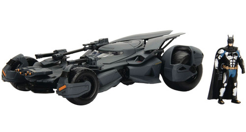 DC Justice League Batmobile & Batman Diecast Vehicle
