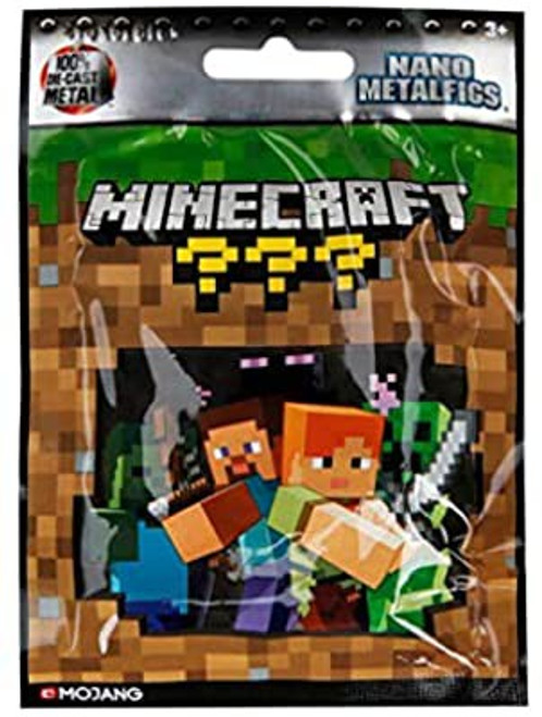 Minecraft M-Figs Series 1 Mystery Pack [1 RANDOM Figure]