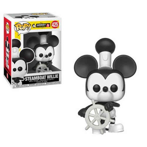 Funko POP! Disney Steamboat Willie Vinyl Figure #425 [90th Anniversary]