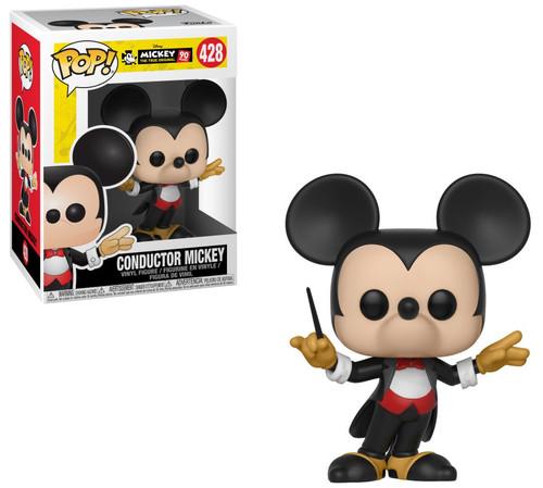 Funko Mickey The True Original POP! Disney Conductor Mickey Vinyl Figure #428 [90th Anniversary]