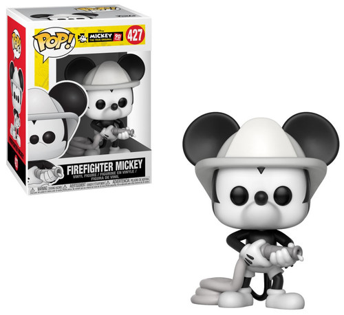Funko Mickey The True Original POP! Disney Firefighter Mickey Vinyl Figure #427 [90th Anniversary]