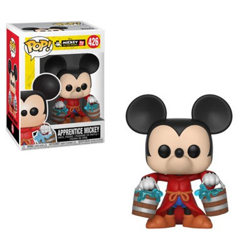 Funko Mickey The True Original POP! Disney Apprentice Mickey Vinyl Figure #426 [90th Anniversary]