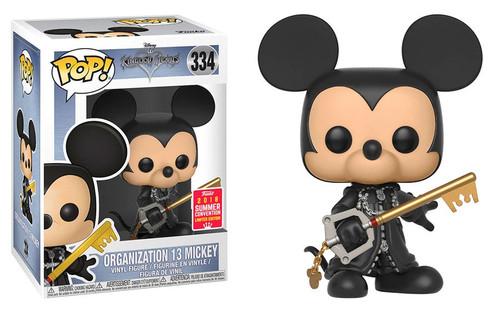 Funko Kingdom Hearts POP! Disney Organization 13 Mickey Exclusive Vinyl Figure #334 [Unhooded]