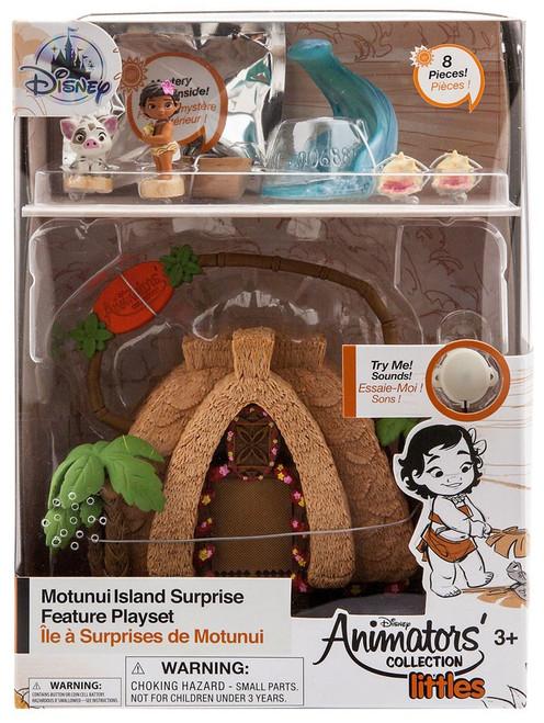 Disney Moana Littles Animators' Collection Motunui Island Surprise Exclusive Micro Playset [2018]