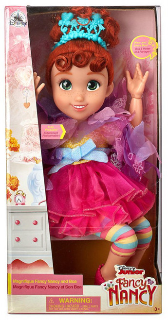 Disney Junior Magnifique Fancy Nancy & Boa Exclusive 18-Inch Doll