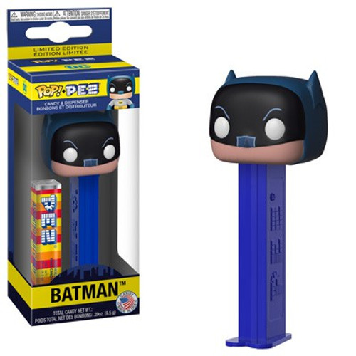 Funko DC POP! PEZ Batman Candy Dispenser [Black & Blue Cowl, Regular Version]