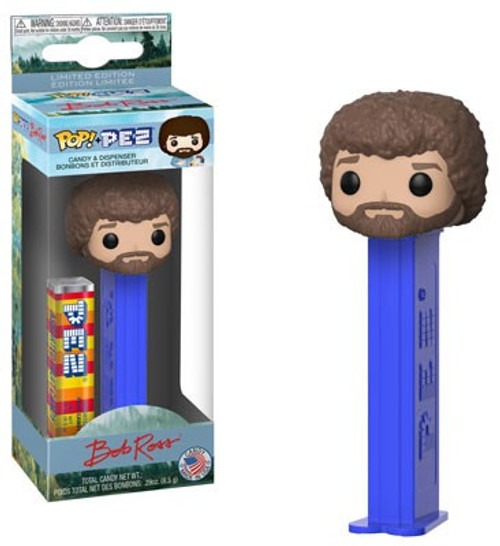 Funko POP! PEZ Bob Ross Candy Dispenser