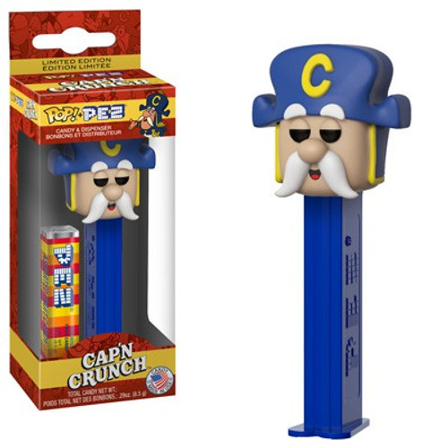 Funko Quaker Oats POP! PEZ Cap'n Crunch Candy Dispenser [Full Color, Regular Version]