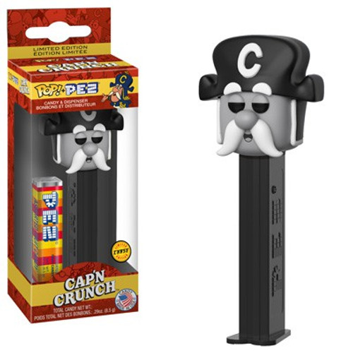 Funko Quaker Oats POP! PEZ Cap'n Crunch Candy Dispenser [Sepia, Chase Version]