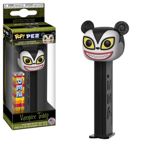 Funko Nightmare Before Christmas POP! PEZ Vampire Teddy Candy Dispenser