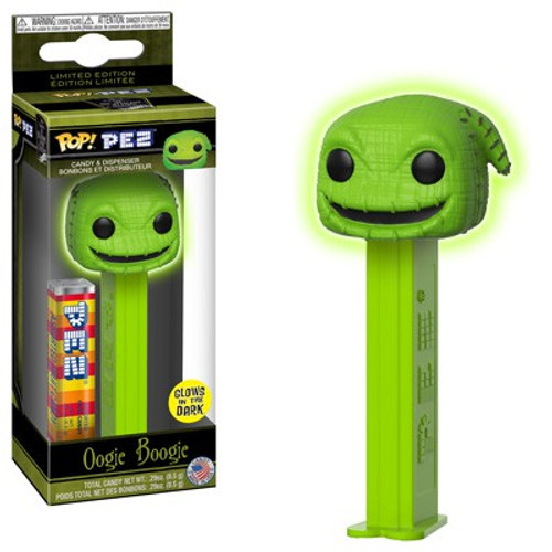Funko Nightmare Before Christmas POP! PEZ Oogie Boogie Candy Dispenser [Glow in the Dark]