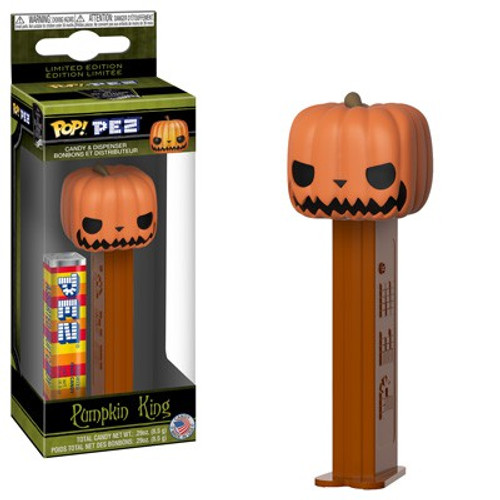 Funko Nightmare Before Christmas POP! PEZ Pumpkin King Candy Dispenser [Glow in the Dark]