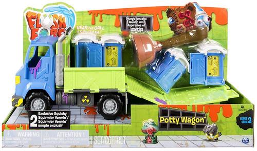 Flush Force Series 2 Potty Wagon Playset