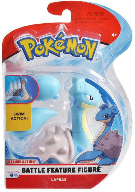 Pokemon Battle Feature Lapras Action Figure