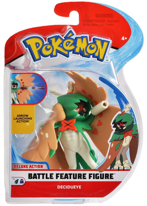 Pokemon Battle Feature Decidueye Action Figure