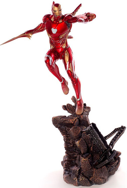 Marvel Avengers Infinity War Iron Man Mark L Battle Diorama Statue