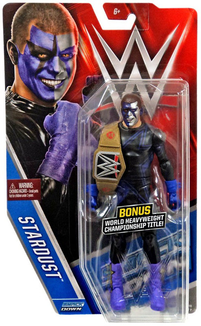 WWE Wrestling Series 58 Stardust Action Figure [World Heavyweight Championship Title]