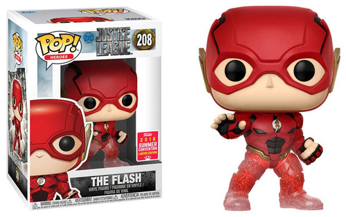Funko DC Justice League POP! Heroes The Flash Exclusive Vinyl Figure #208 [Running, Damaged Package]