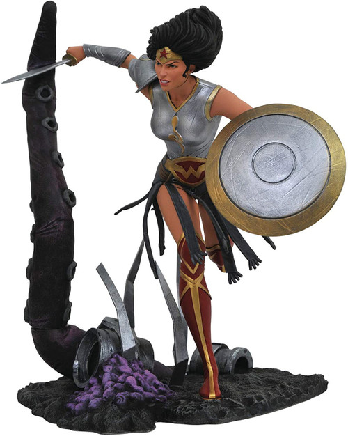 Batman DC Gallery Dark Nights: Metal Wonder Woman 9-Inch Collectible PVC Statue