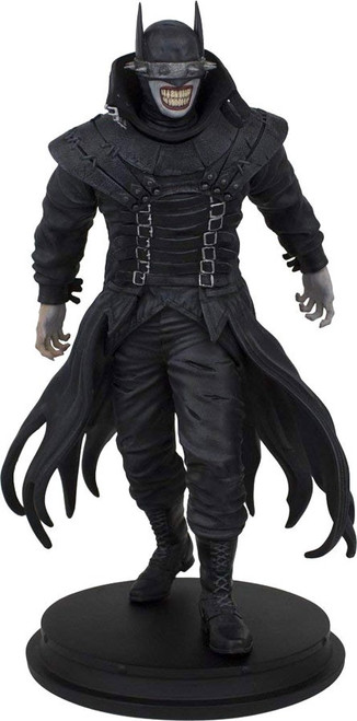 DC Gallery Dark Nights: Metal The Batman Who Laughs Exclusive 9-Inch Collectible PVC Statue [SDCC, Damaged Package]