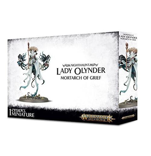 Warhammer Age of Sigmar Grand Alliance Death Nighthaunt Lady Olynder, Mortarch of Grief